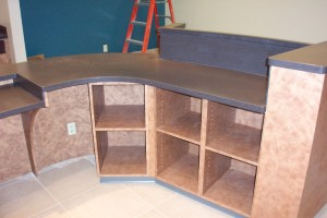 Solid Surface Design in Millwork
